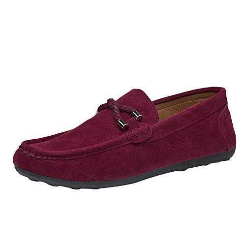 S&H-NEEDRA Chaussures Hommes Automne Mode Suede Beanie Shoes Paresseux Chaussure De Conduite Hiver Chaussures Simples