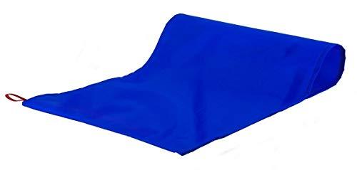 CarebyMail, Gesundheitsfürsorge, schlauchförmige Folienübertragungshilfe für Patienten, Blau, 122 x 70 cm, blau, 1