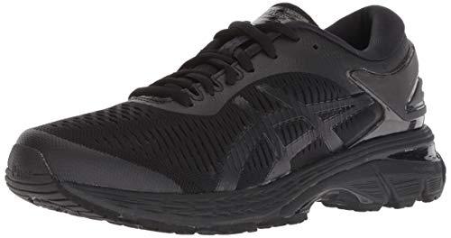 Asics Women's Gel-Kayano 25 Black/Black Running Shoe 6.5 Women US