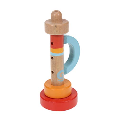 STOBOK Holz Trompete Hooter Kleine Lautsprecher Spielzeug Trompete Spielzeug Pfeife Instrumente Musik Spielzeug für Kleinkinder Kinder Kinder