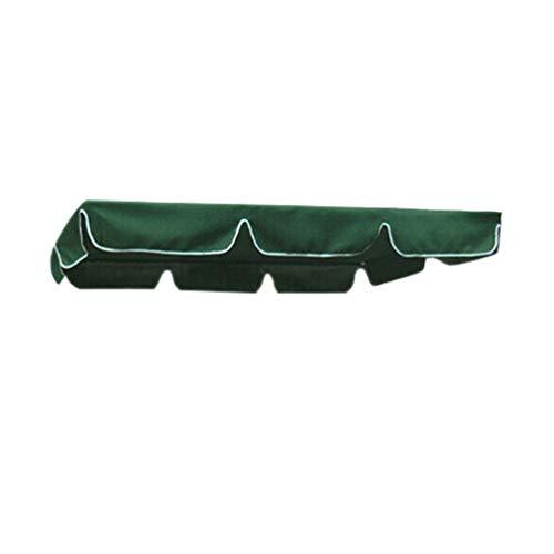 unknow Liangwan - Funda para columpio de jardín (tela impermeable, para asiento de columpio), color verde