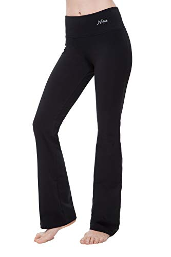 NIRLON Bootcut Yoga Pants For Women