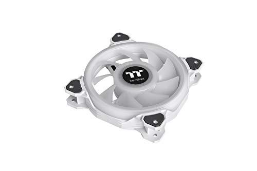 Thermaltake Riing Quad PLUS 12 RGB White PCケースファン 120mm CL-F100-PL12SW-C FN1502