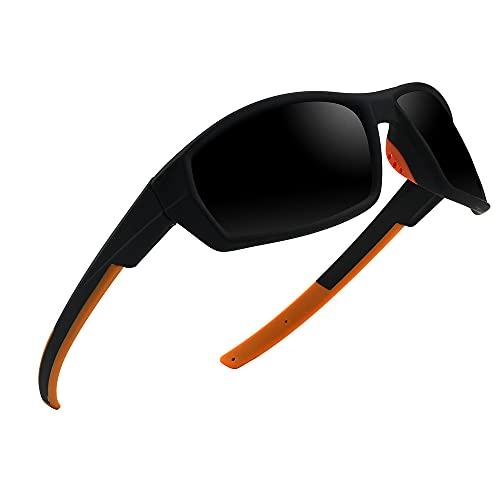 YHD Gafas De Sol Flotantes, Gafas De Sol Deportivas Unisex Polarizadas para Adultos con ProteccióN UV 100% No Sumergibles CóModa Montura Tr90 Adecuada para Pesca Flotante Y Surf