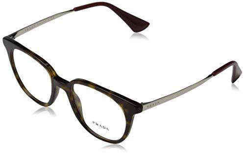 Prada 0PR 13UV Monturas de gafas, Havana, 50 para Mujer