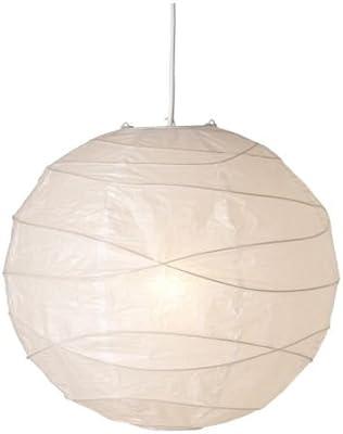 Ikea Regolit Pendant Lamp Shade White Paper White 45 X 45 X 45 Cm Amazon Co Uk Lighting
