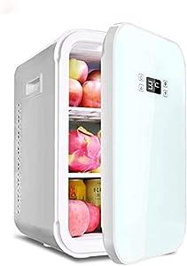 LZXH Réfrigérateur de Voiture Mini réfrigérateur 22 litres Refroidisseur et réchauffeur Portable AC/DC, réfrigérateur Compact avec Chiffre et température de contrôle pour Chambre, Bureau, dortoir