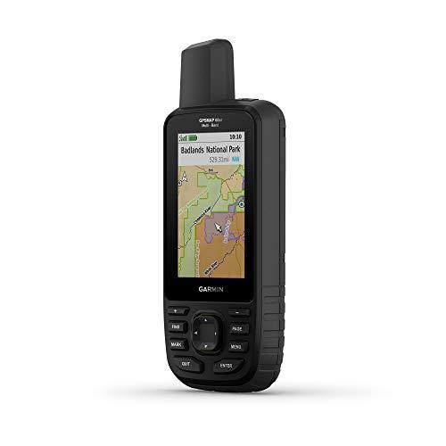 Garmin GPSMAP 66sr, portátil de senderismo con GNSS expandido y tecnología multibanda, pantalla a color de 3 pulgadas (010-02431-00)