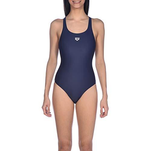ARENA Damen Sport Badeanzug Team Fit, Navy, 36