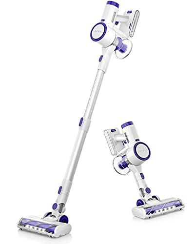 ORFELD Cordless Vacuum, 20000Pa Powerful Suction Stick Vacuum Cleaner, 200W Digital Motor Stick Handheld Vacuum, with Unique Air Outlet HEPA, Suitable for Hard Floor Carpet Hair