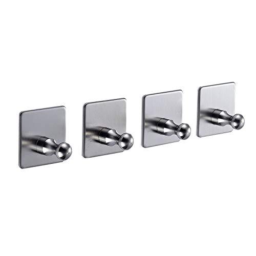 Amazon - Stainless Steel-Self-Adhesive Wall Hooks $9.95