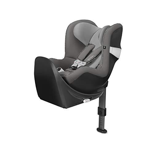 Cybex - Silla de coche grupo 0+/1 Sirona M2 i-size, Incluye SensorSafe, desde el nacimiento hasta los 4 años, de 45 cm hasta 105 cm aproximadamente, 19 kg máximo, CON BASE M, Manhattan Grey