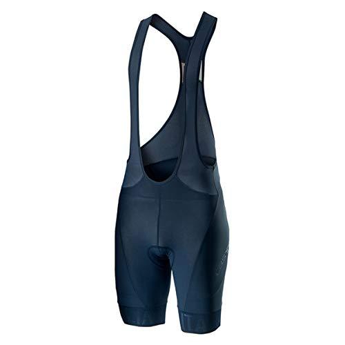 CASTELLI Italia 20 - Pantalón Corto para Hombre, Hombre, 4520117, Dark Infinity Blue, S