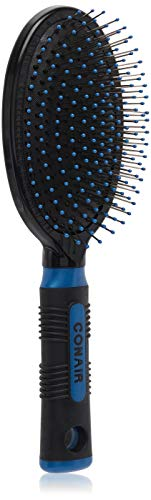 Conair Pro Hair Brush with Wire Bristle, Cushion Base, Colors May Vary