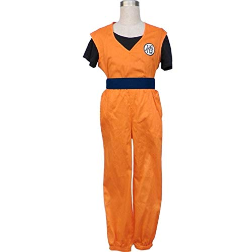 MAXIAOTONG Customized Anime Dragon Ball Cosplay Son Goku Dedicated Exercise Clothing Suit Cos Party Costume (Color : Women Size, Size : Small)