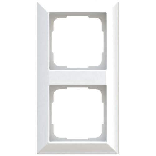 OPUS® 55 Inform Abdeckrahmen Ausführung 2-fach, Farbe polarweiß