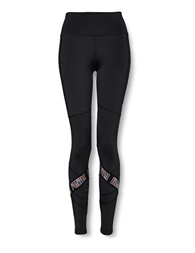 PUMA Feel It Elastic 7/8 Tight Mallas Deporte, Mujer, Black, XS