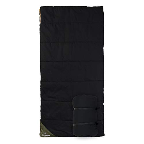 TETON Sports Camper Sleeping Bag; Warm, Comfortable Sleeping Bag for Hunting and Camping