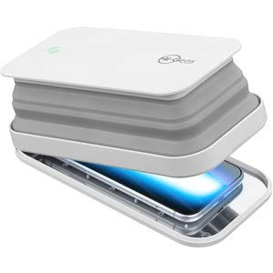 Preisvergleich Produktbild cellularline UVCSTERILIZERW Hi-Gens,  LED-Sterilisator zur Sterilisation des Smartphones,  mit Ultraviolettlicht-Emission (UV-C),  sterilisiert 99, 9 % der Bakterien.