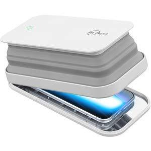 cellularline Hi-Gens, sterilizzatore Smartphone a Luce UV-C, sterilizza Il 99,9% dei batteri
