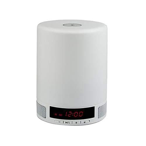 QAR Multifunktionale Bluetooth Lautsprecher Kreative Musik Schreibtischlampe Audio Stilvolle Tragbare Mini Wecker Lautsprecher Audio