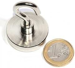 Magneet met haak Ø 32 mm, hechtkracht ~ 30 kg | 123 magneet