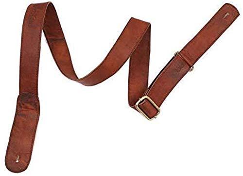 WerKens Genuine Leather Adjustable Mandolin,Ukulele Strap Belt, Soft Feel Comfortable Grip Slim...