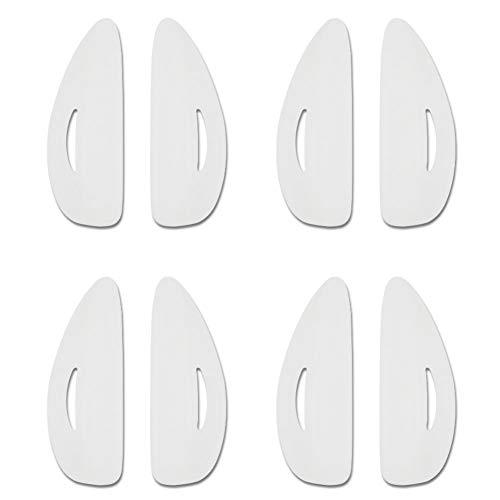 Nosii 8 stücke Silikon Durable 4 Größen Falsche Wimpernzange Curling Heben Gefälschte Wimpern...