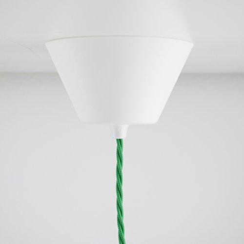 Deckenbaldachin Kunststoff weiß