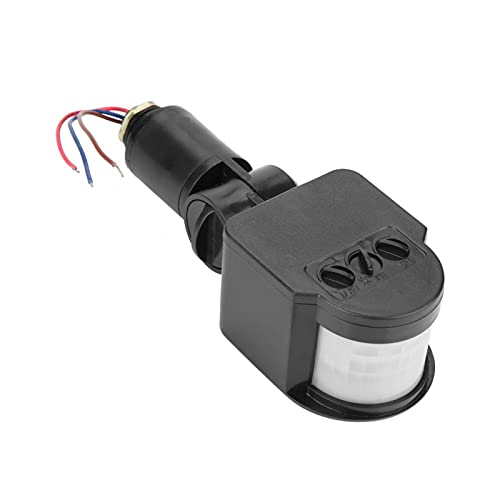 Traitement Rapide 2-6 mètres commutateur d'inductance de Mouvement du Corps Humain commutateur de capteur contrôlé par Silicium détecteur de Rayons infrarouges Sensible pour projecteur LED