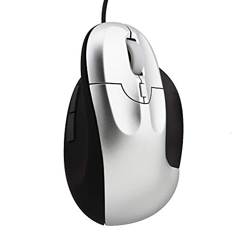 Wired 3200 DPI Vertical Ergonomic Mouse USB Optical Gaming PC Office Mice