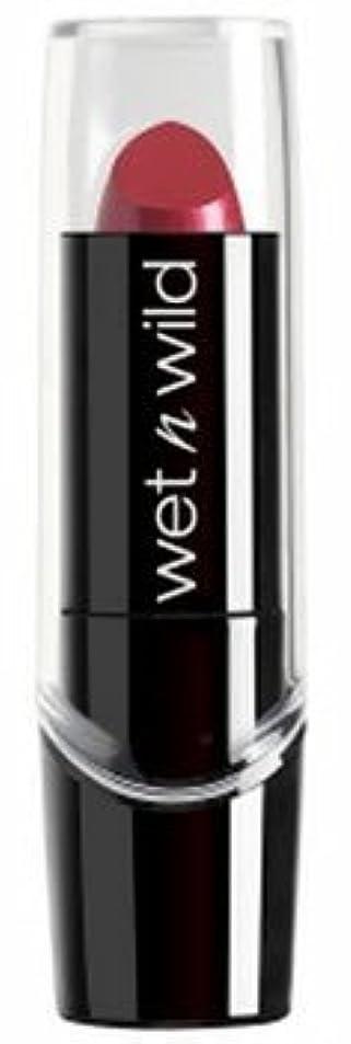 分解するシーサイド代表して(3 Pack) WET N WILD Silk Finish Lipstick - Just Garnet (並行輸入品)