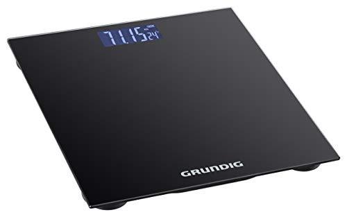 Grundig Pèse-personne numérique 180 kg – Balance de haute précision avec graduation de 50 g I Grand écran parfait...