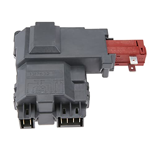 Junlucki Nuevo Conjunto de Interruptor de Bloqueo de Puerta de Lavadora 131763202 para Frigidaire Gibson Kelvinator Westinghouse 131763256
