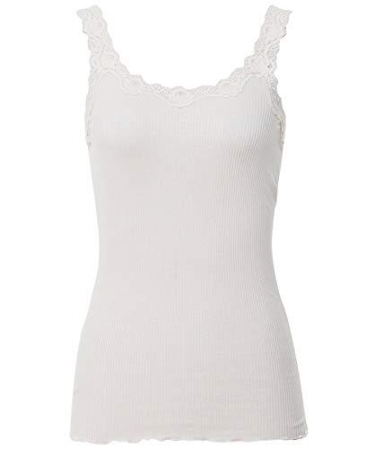 Rosemunde Mujeres Camiseta sin Mangas de Seda Babette Crema L