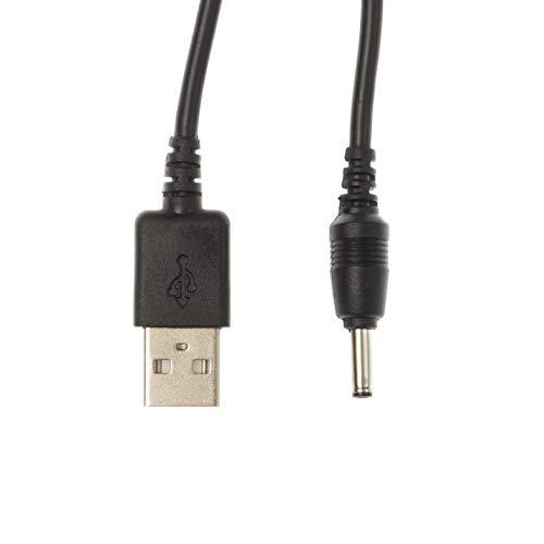 Kingfisher Technology USB-Ladegerät für Archos Cesium 140 AC140CE, AC140CS Tablet,2m,5V,2A,22AWG,schwarz.
