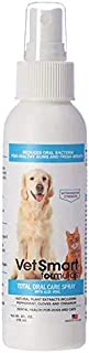 VetSmart Formulas Dog Breath Freshener: Eliminate Bad Breath and Prevent Oral Disease in Dogs and Cats - Teeth Cleaning Sp...