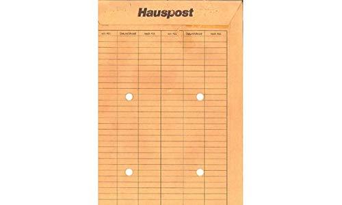 MAILmedia 38104/7 Hauspost-Versandtasche, braun, C4, ungummiert