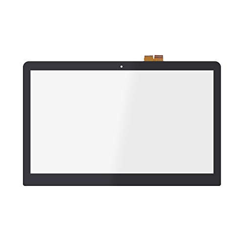 FTDLCD 15.6'' Frente de Vidrio Pantalla Táctil Digitalizador Reemplazo de Ordenador para Sony Vaio SVF15AA1QM SVF15A1Z2EB