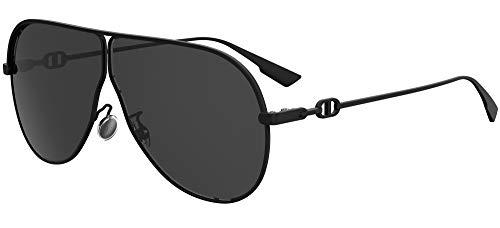 Dior DIOR CAMP MATTE BLACK/GREY 66/3/145 women Sunglasses