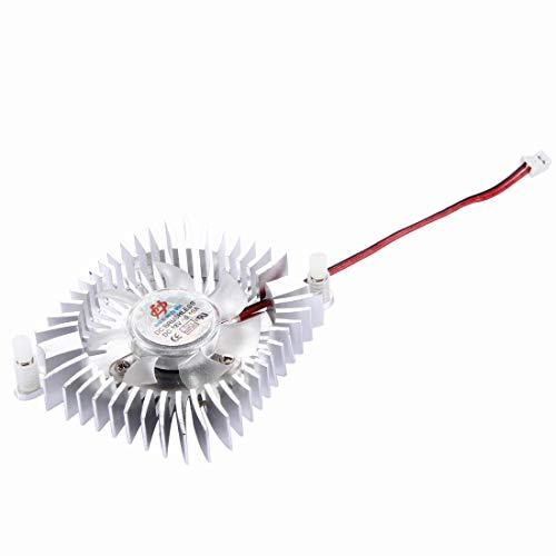 LYYCEU Ventilador de enfriamiento de la Tarjeta VGA de 8 Pines de 80 mm