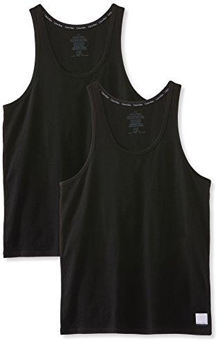 Calvin Klein Herren tank Top, Schwarz (Black), Large (2erPack)