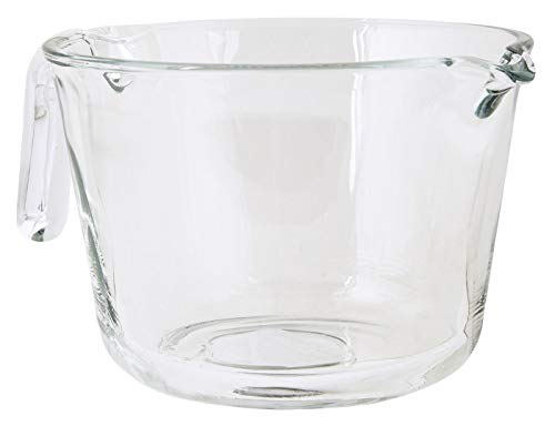 IB Laursen - Rührschüssel mit Henkel - (Gross) - Glas -Klar - (BxHxL): 16 x 11 x 21 cm