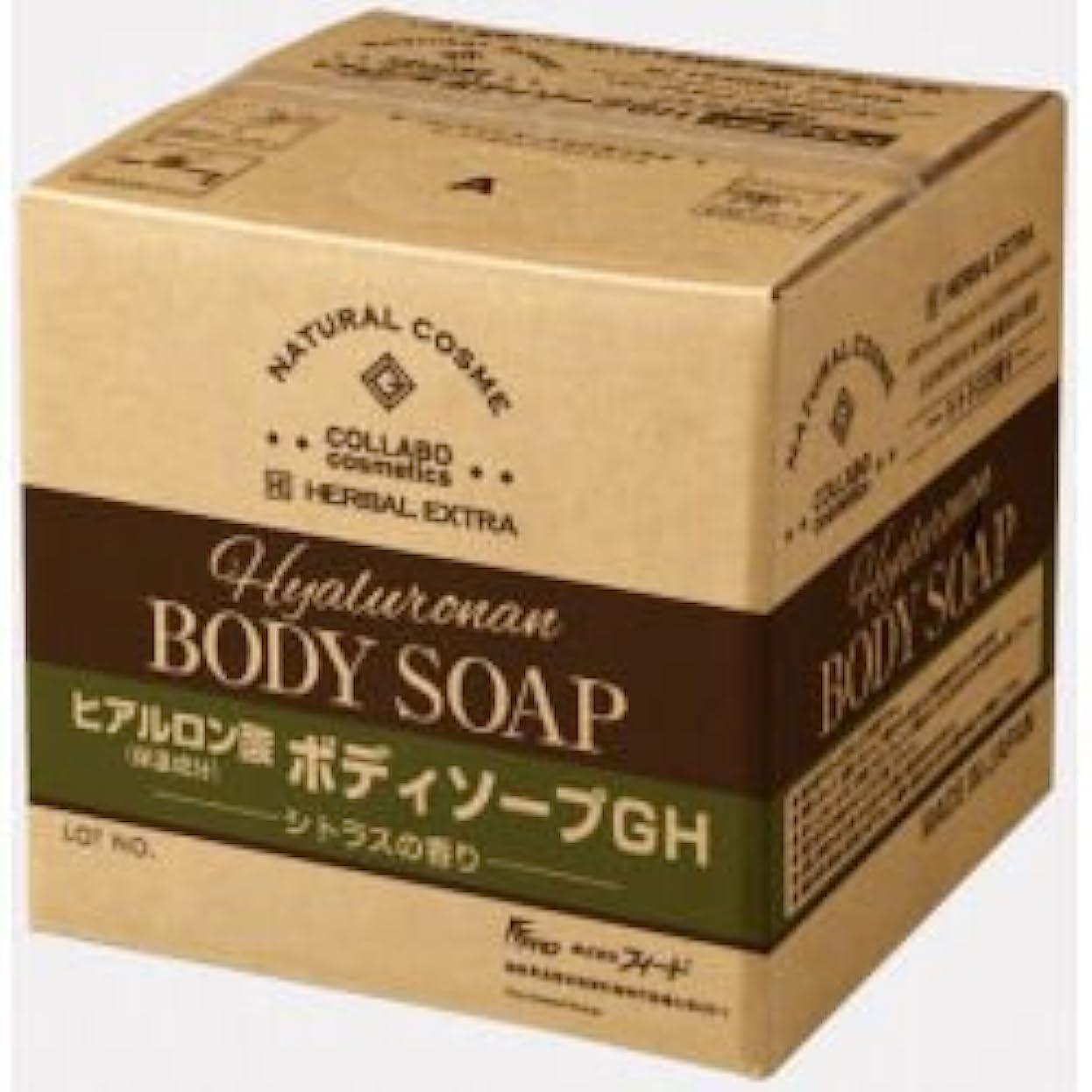 誇りに思うハンドブック卑しいゼミド×ハーバルエクストラ ヒアルロン酸ボディソープGH シトラスの香り 20kg