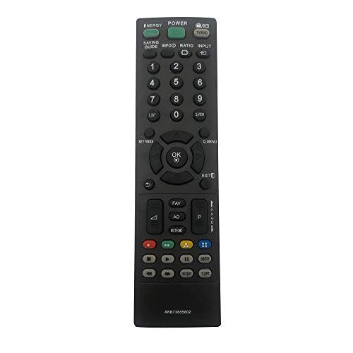MYHGRC Die neue Fernbedienung AKB73655802 ist kompatibel mit Fernbedienung LG smart tv LCD-Plasma-LED Fernseher B32LS3510 32LS3500 55LS4500 42CS530 47LS4500 19LS3500 22LS3500 22LT360C 26LT360C 32LS350