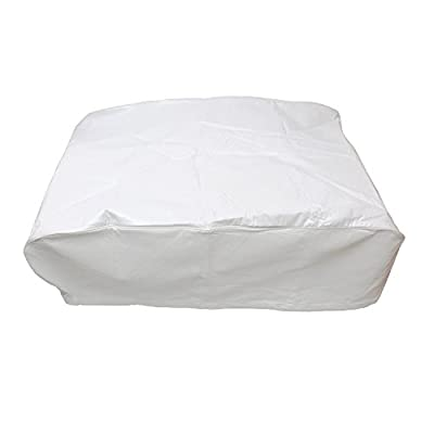 Dumble Camper Air Conditioner Cover for Coleman RV Air Conditioner Cover RV AC Shroud, White