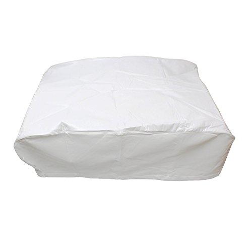 Cubierta de aire acondicionado para caravana – cubierta para cubierta de aire acondicionado de caravana, color blanco, Blanco, MODEL 2