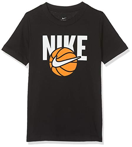 Nike B NSW Tee Basketball Ball T-Shirt à Manches Courtes Homme, Noir, FR : S (Taille Fabricant : S)