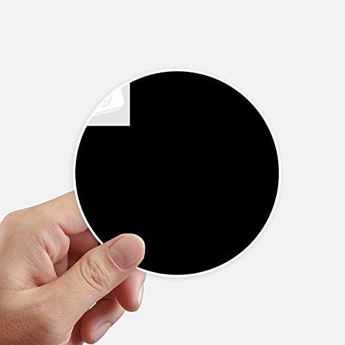DIYthinker Math Kowledge Sphere vergelijking ronde Stickers 10 Cm muur koffer Laptop Motobike Decal 8 Stks