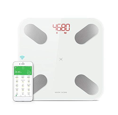 24 Lichaamsgegevens Slimme badkamer Gewicht Mi Weegschaal Vetpercentage Bascula Digitale Peso Korporaal Led-display Elektronische vloerweegschaal Wit